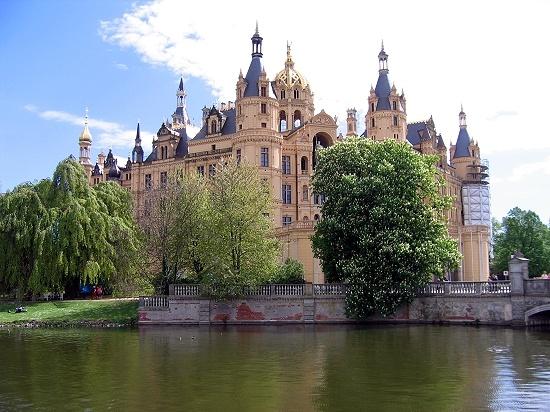 The castle in Schwerin