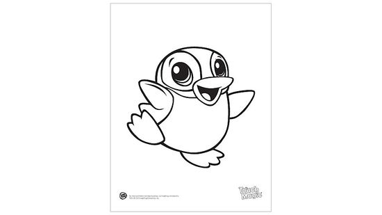 Baby Animal 'Penguin' Coloring Printable