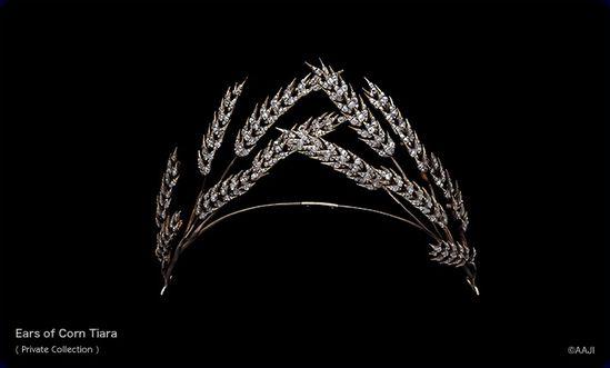 Ears of corn tiara.