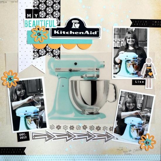 My Beautiful KitchenAid - Scrapbook.com