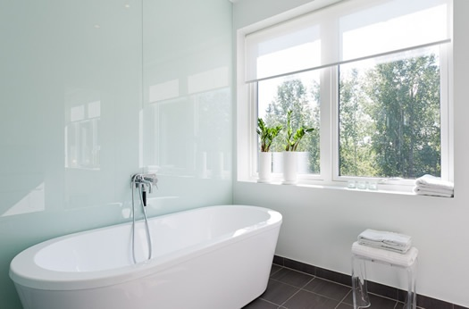 Bathroom inspiration via Skeppsholmen