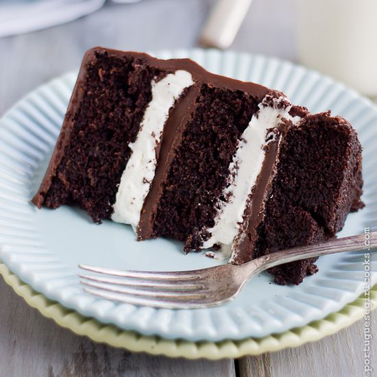 Salted Caramel Ding Dong Chocolate Cake...
