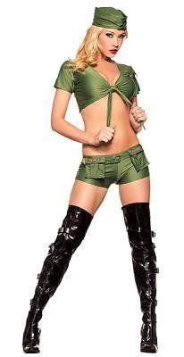 Sergeant Sexy Women's Costume Adult Halloween « Clothing Impulse