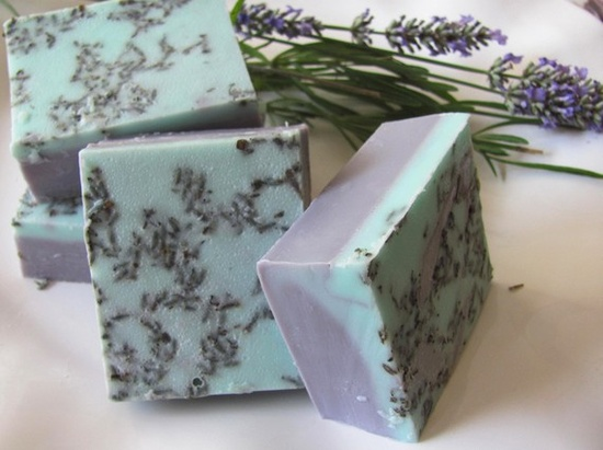 Lavender and Rose Soap