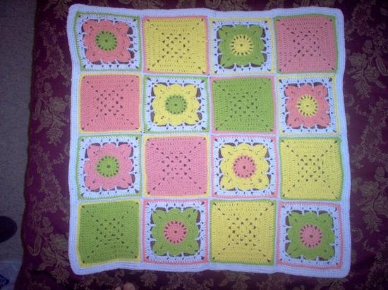 Baby blanket (crochet)