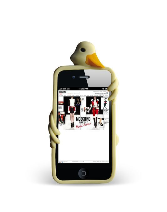 Cute Duck Rubber iPhone 4 Case. #iPhone4
