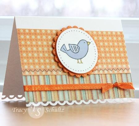 adorable bird & stitching