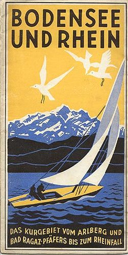 •Bodensee & Rhin 1935 by Susanlenox