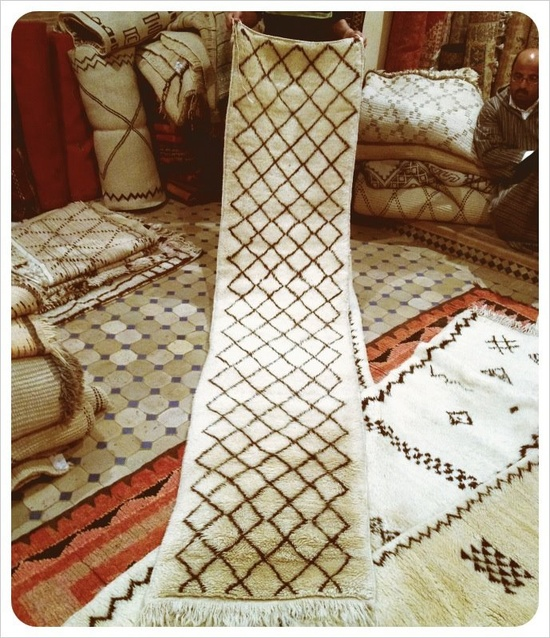 Grant K. Gibson Interior Design- Beni Ouarain runners from my trip to Morocco. Email me for details!