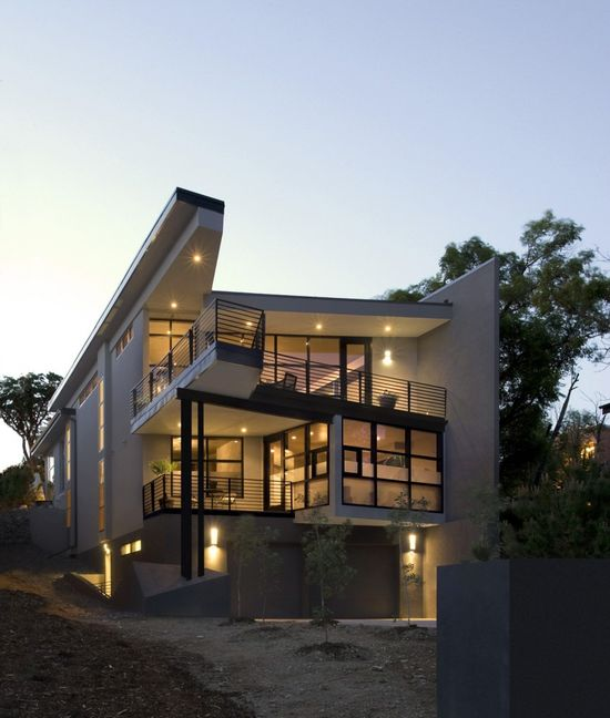 Fractured House / Studio H:T #modern #modernhomes #home #homes #house #houses #cincinnati #ohio #dreamhome #dreamhomes #dreamhouse #dreamhouses #incredible #architecture #architect #realestate #luxury #living #exterior #interior