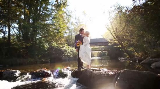 Kelly Clarkson's wedding photo