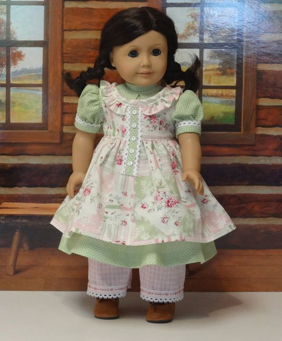 Patchwork Rose  1850s prairie dress and by cupcakecutiepie, $79.00