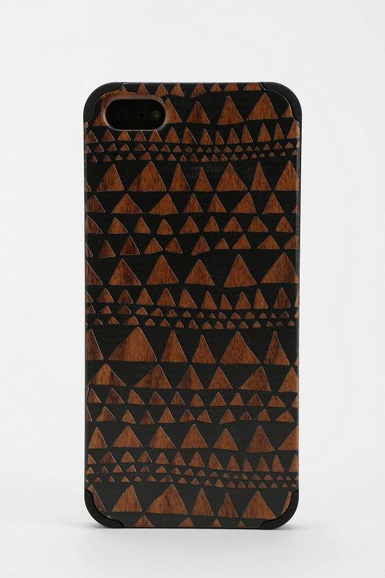 Painted Wood iPhone 5 Case #urbanoutfitters