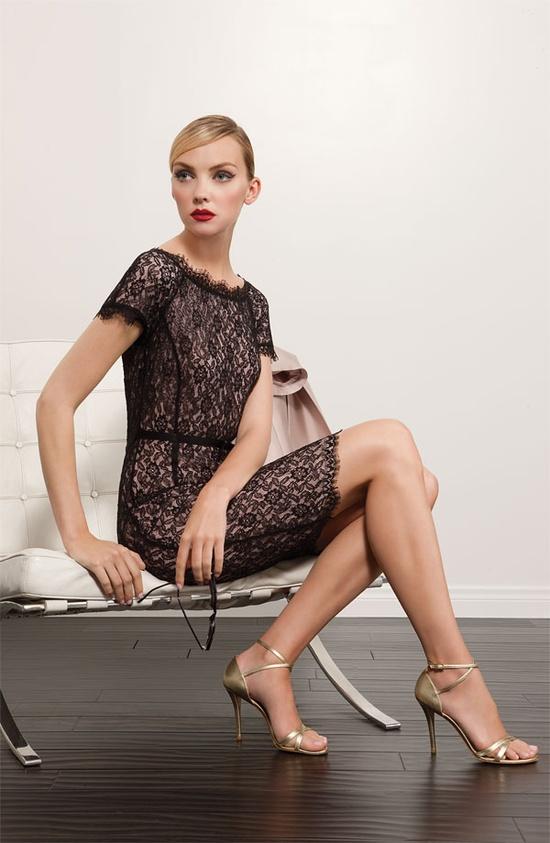 St. John Collection Dress & Accessories #Nordstrom #FallTrend #Designer