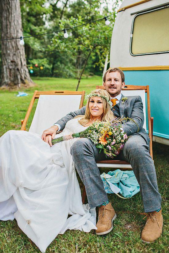 boho bride wedding portrait