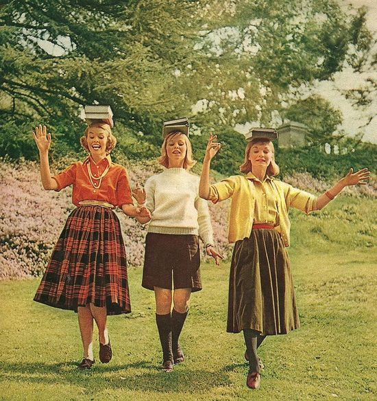 College Girl Fashions 1958