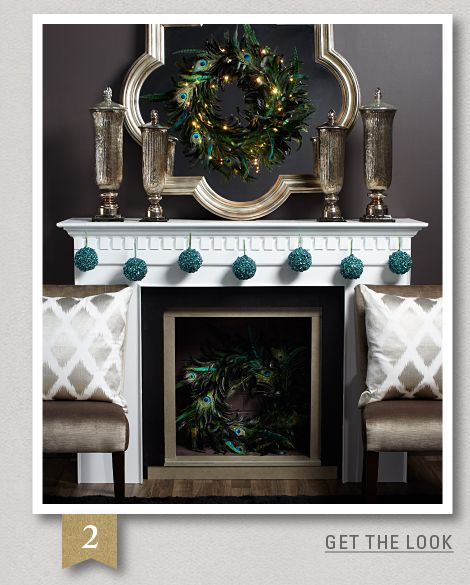 Holiday - 5 looks for your mantel