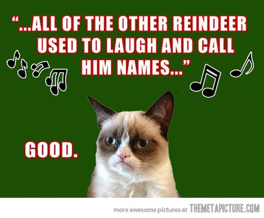 Grumpy Cat Christmas.