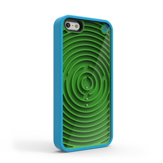 iPhone 5 Case Groovy Blue Green