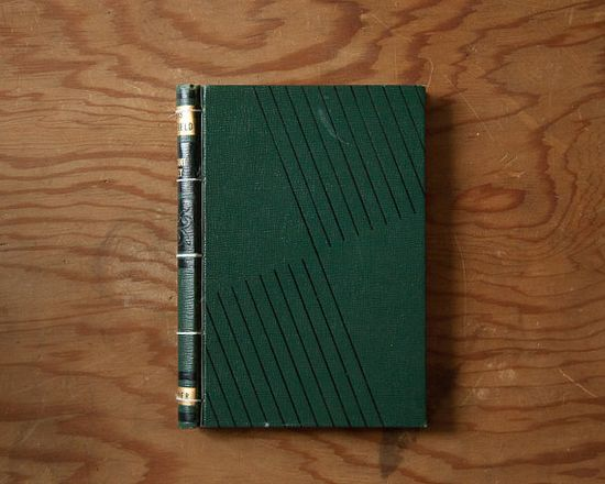 Journal // vintage handmade journal // hard bound by ericmbaral, $23.00