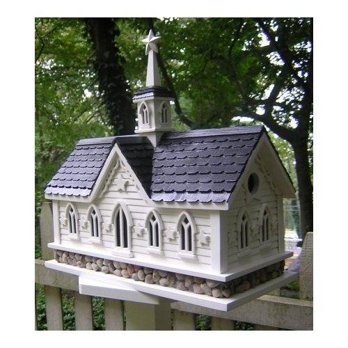 Amish Star Barn Large Garden Bird House