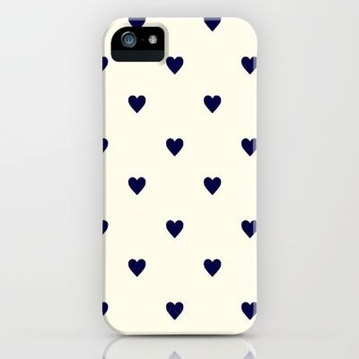 little hearts iphone case.