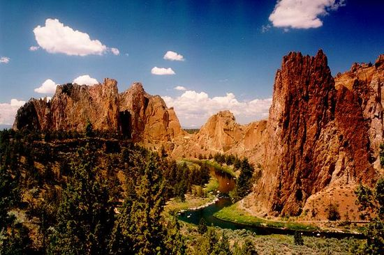 Smith Rock...epic rock climbing, hiking, rafting