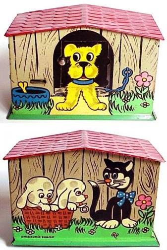 """tirelire """"la maison du chien """"- 1975 #vintage"""