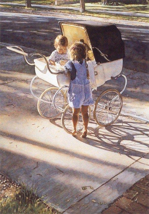 Realistic Watercolor Paintings by Steve Hanks