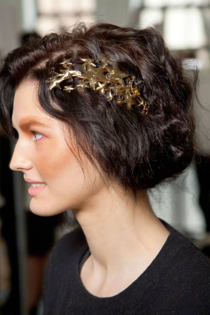 Fall 2012 trend: Elle: Hair Ornaments