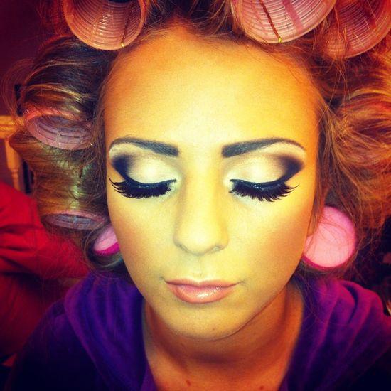 ? Her eye Makeup