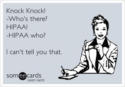 HIPAA SECRETS!