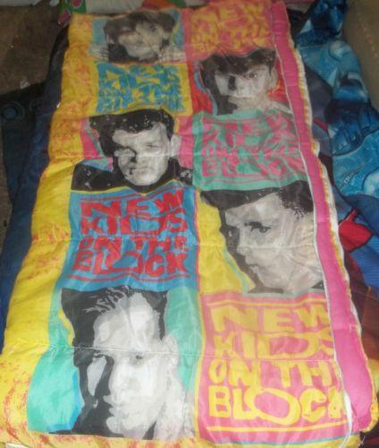 New Kids on the Block sleeping bag...had it!
