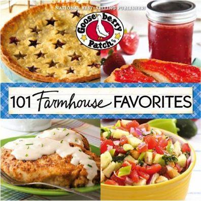 Bargain e-Cookbook: Gooseberry Patch 101 Farmhouse Favorites! {$1.99} #recipes
