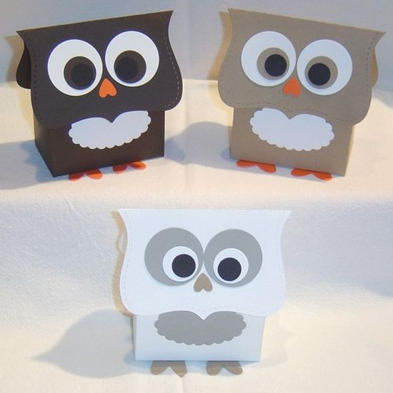 Harry Potter Owl Favor Boxes