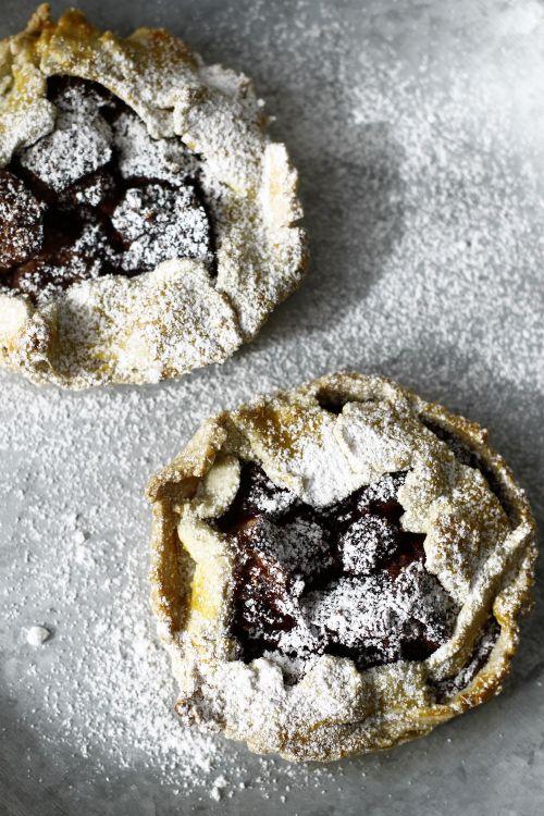 Fig and Blackberry Tartlet.