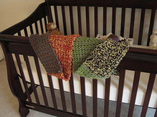 Handmade house colors blanket