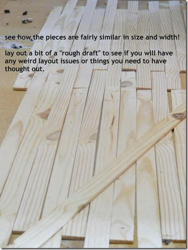 NellieBellie: diy lath floor tutorial. create this darling floor for cheap cheap cheap!.....you could use lathe wood for lots of projects...good to know about