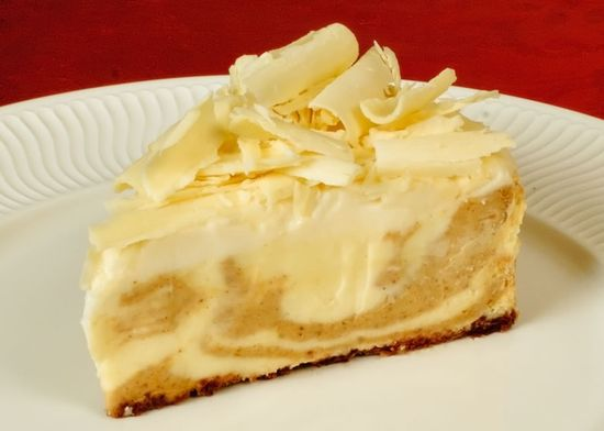 Pumpkin spice White Chocolate Cheesecake!