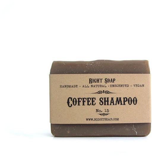 Coffee Soap Shampoo Men soap All Natural soap by RightSoap +dreadstop @DreadStop