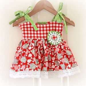 Sundress & Ruffled Bloomer Set - Made to Order from Robin Tail - Handmade Gift Ideas for Christmas from Handmade HQ