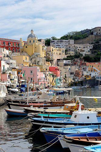Procida, island off the coast of Naples