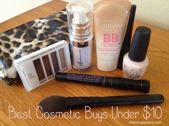 Best cosmetics under $10