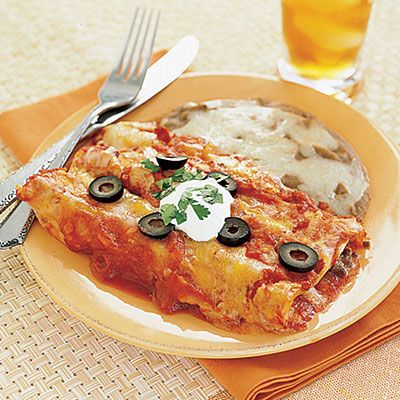 Beef and Cheese Enchiladas #recipe