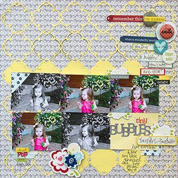 #papercraft #scrapbook #layout June 2013 PageMaps
