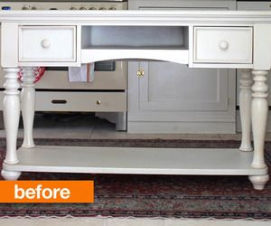 Before & After: DIY Custom Kitchen Island — Designing Domesticity