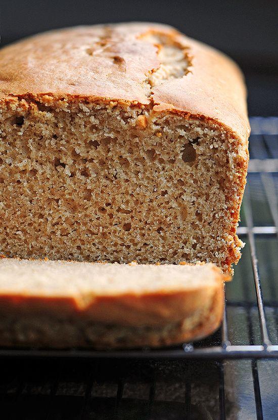 Peanut Butter Bread #Recipe from SheWearsManyHats.com