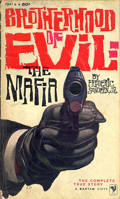 Brotherhood of Evil: The Mafia, book cover