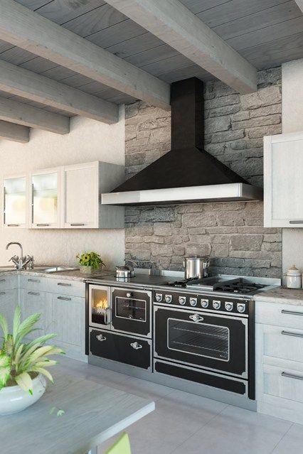 Stone Splashback - Kitchen Design Ideas & Pictures – Decorating Ideas (EasyLiving.co.uk)