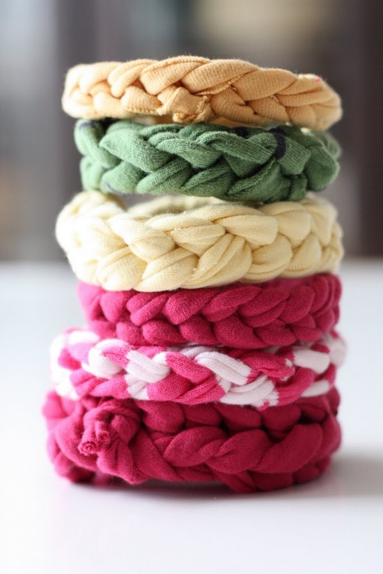 DIY braided bracelets